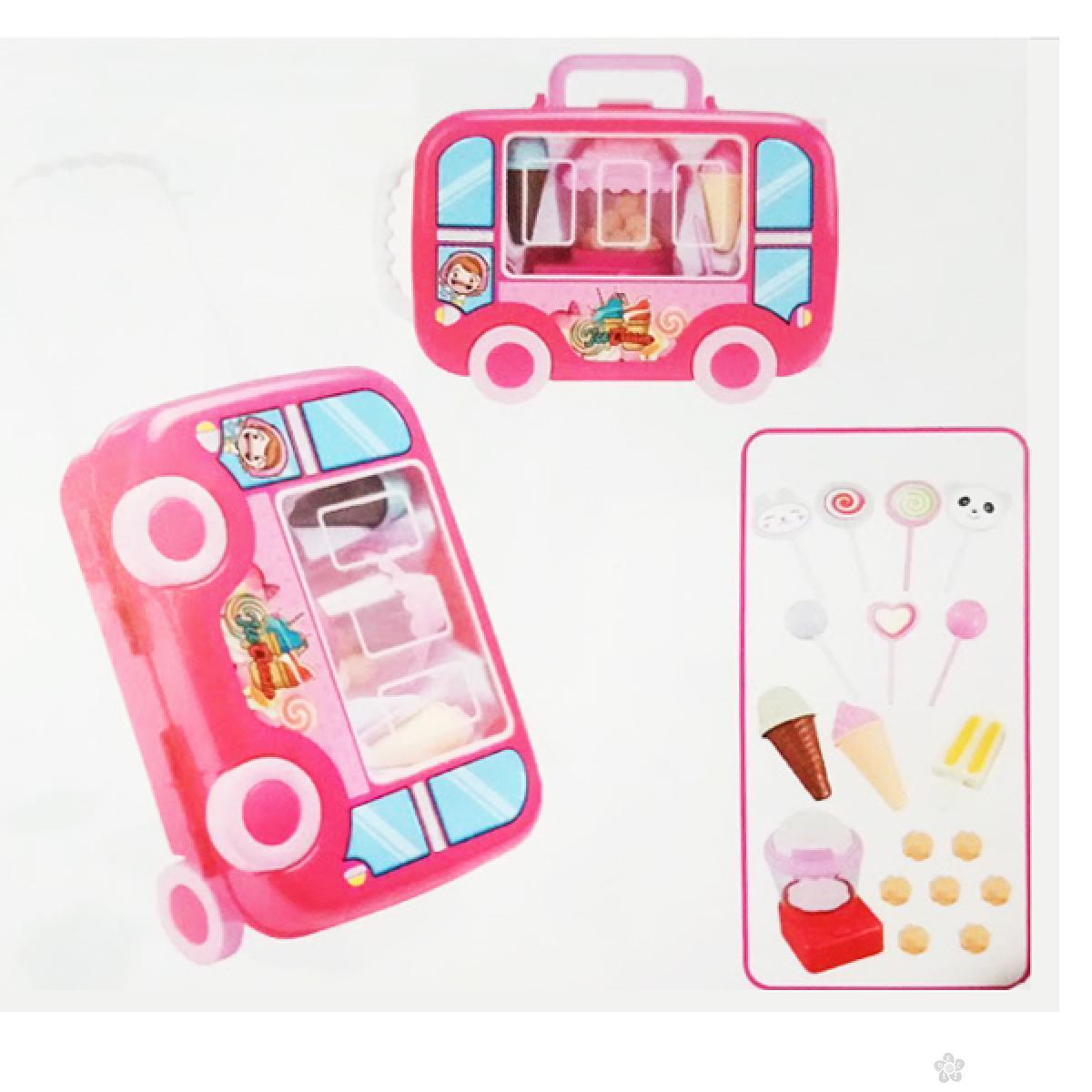 Slatki kofer na točkovima 59126