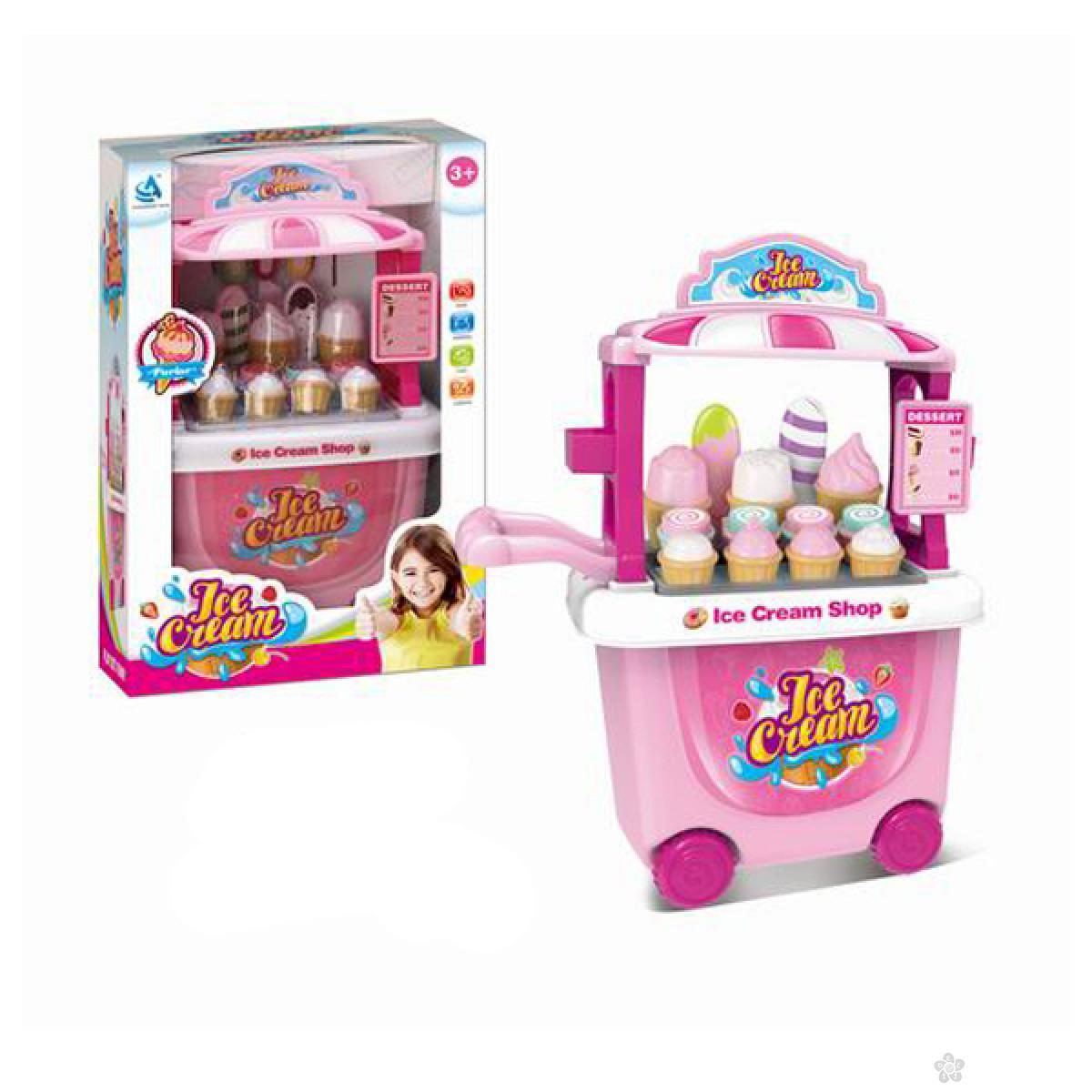 Kuhinja set - Štand za prodaju sladoleda 100152