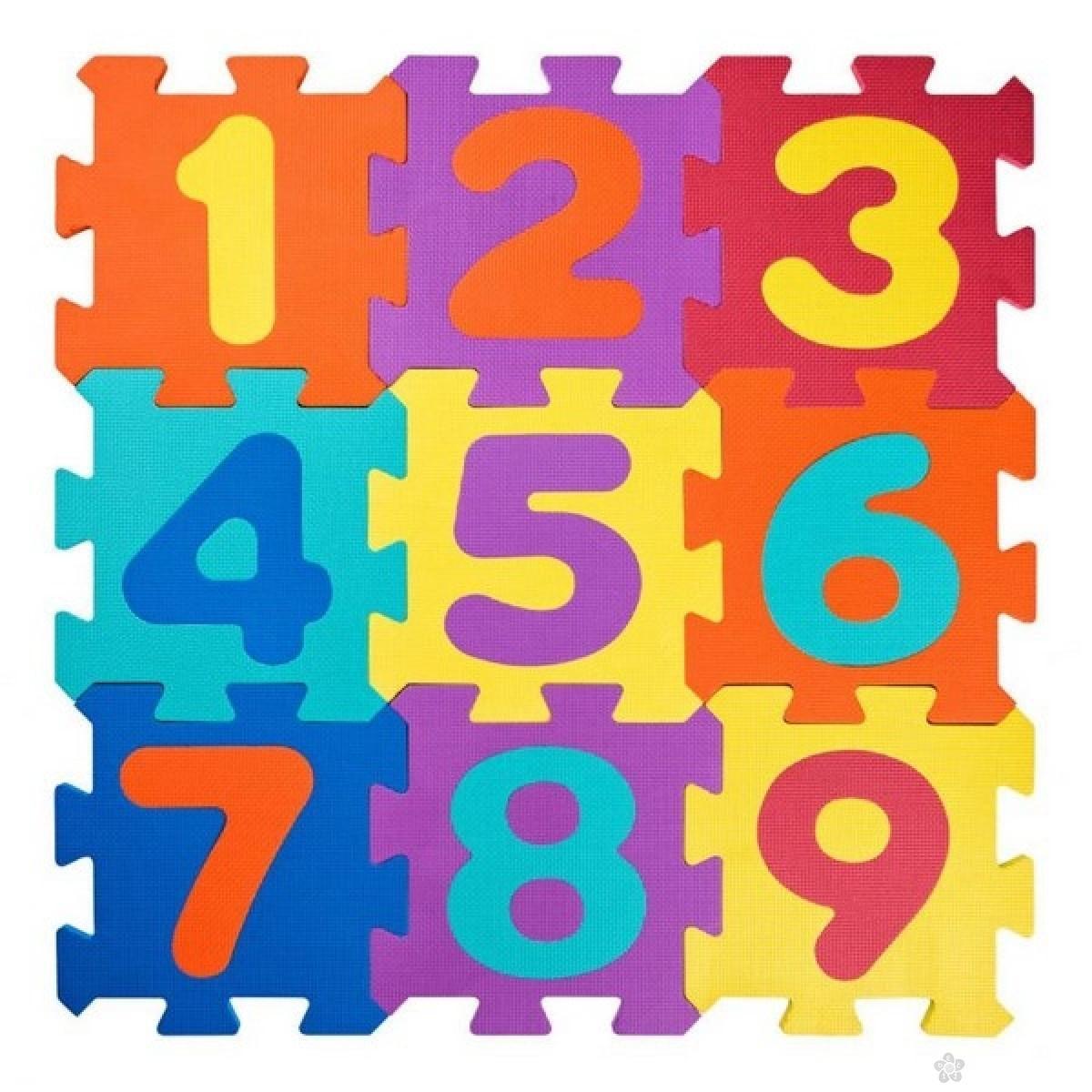 Podna prostirka sa brojevima 91627