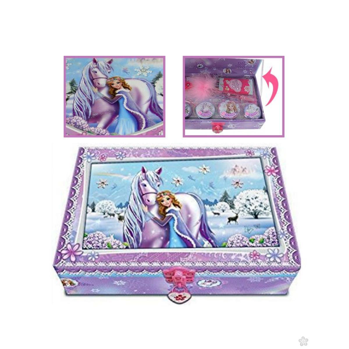 Kutija za nakit sa ključem My pony, 00176SP