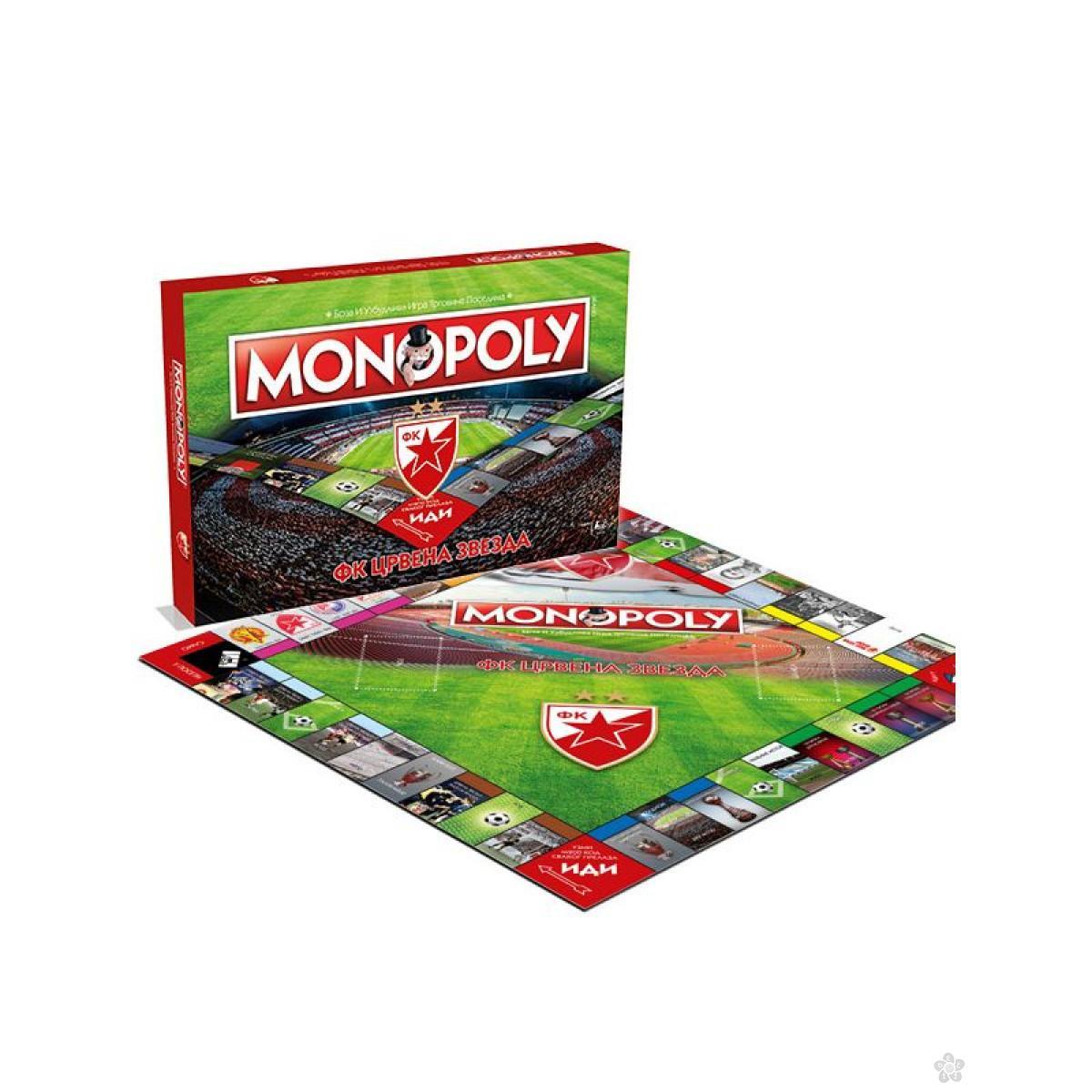 Društvena igra Monopol FK Crvena Zvezda, 031080