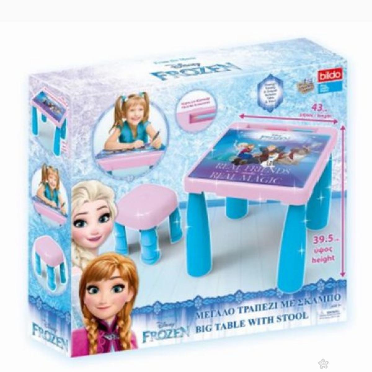 Sto i stolica Frozen 04/8735