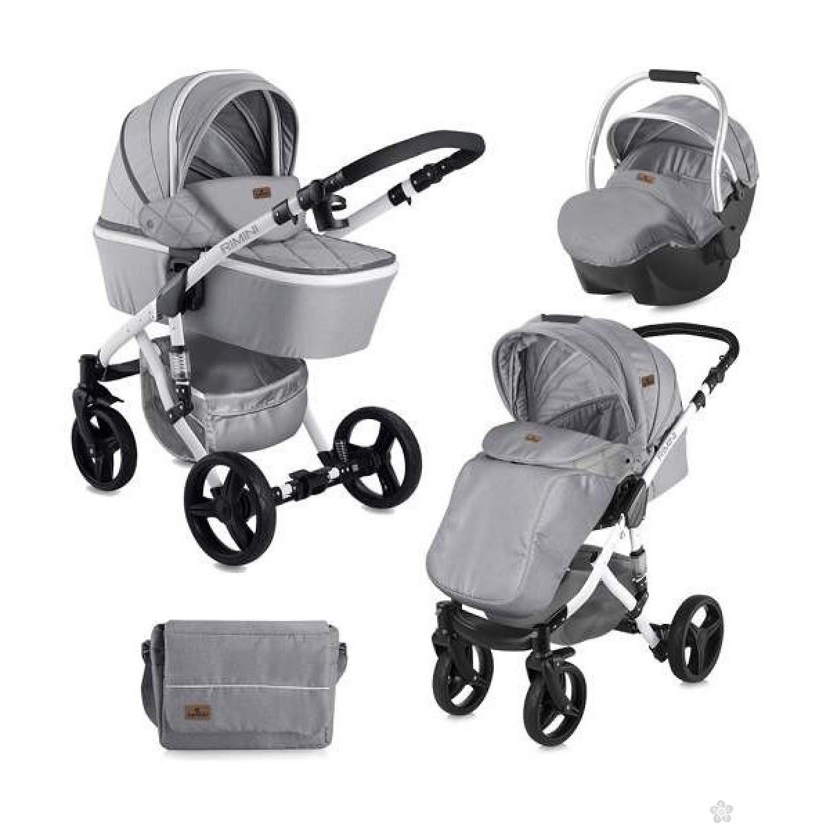 Kolica Rimini set Grey, 10021051838A