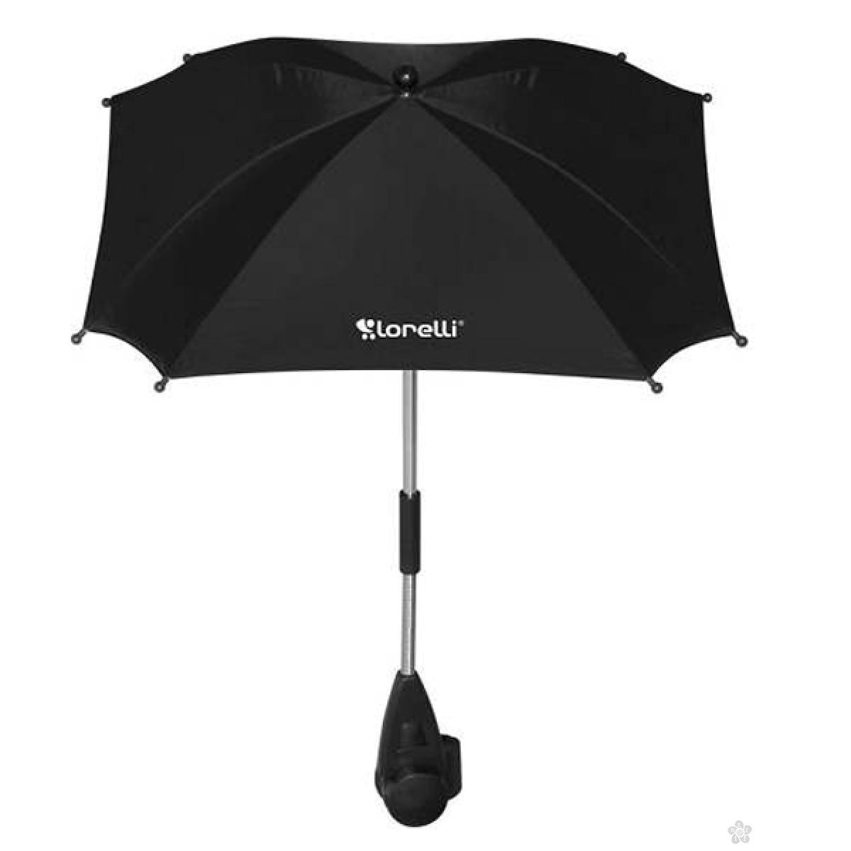 Suncobran Bertoni za Kolica sa UV Zaštitom Black, 10030021605