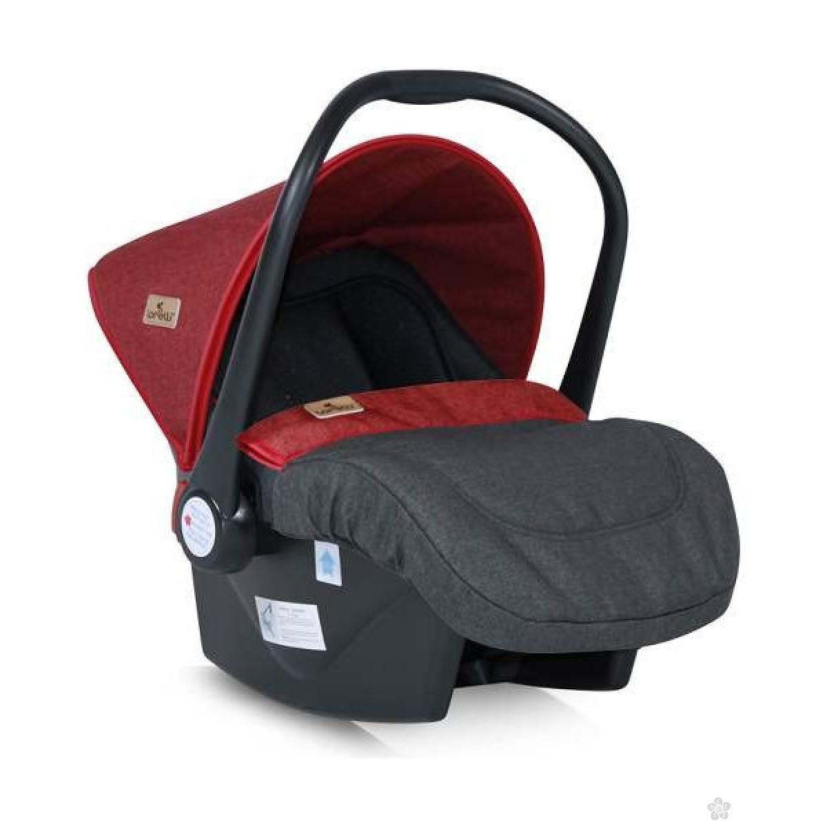 Auto Sedište Lifesaver Black & Red 0-13kg 10070301800