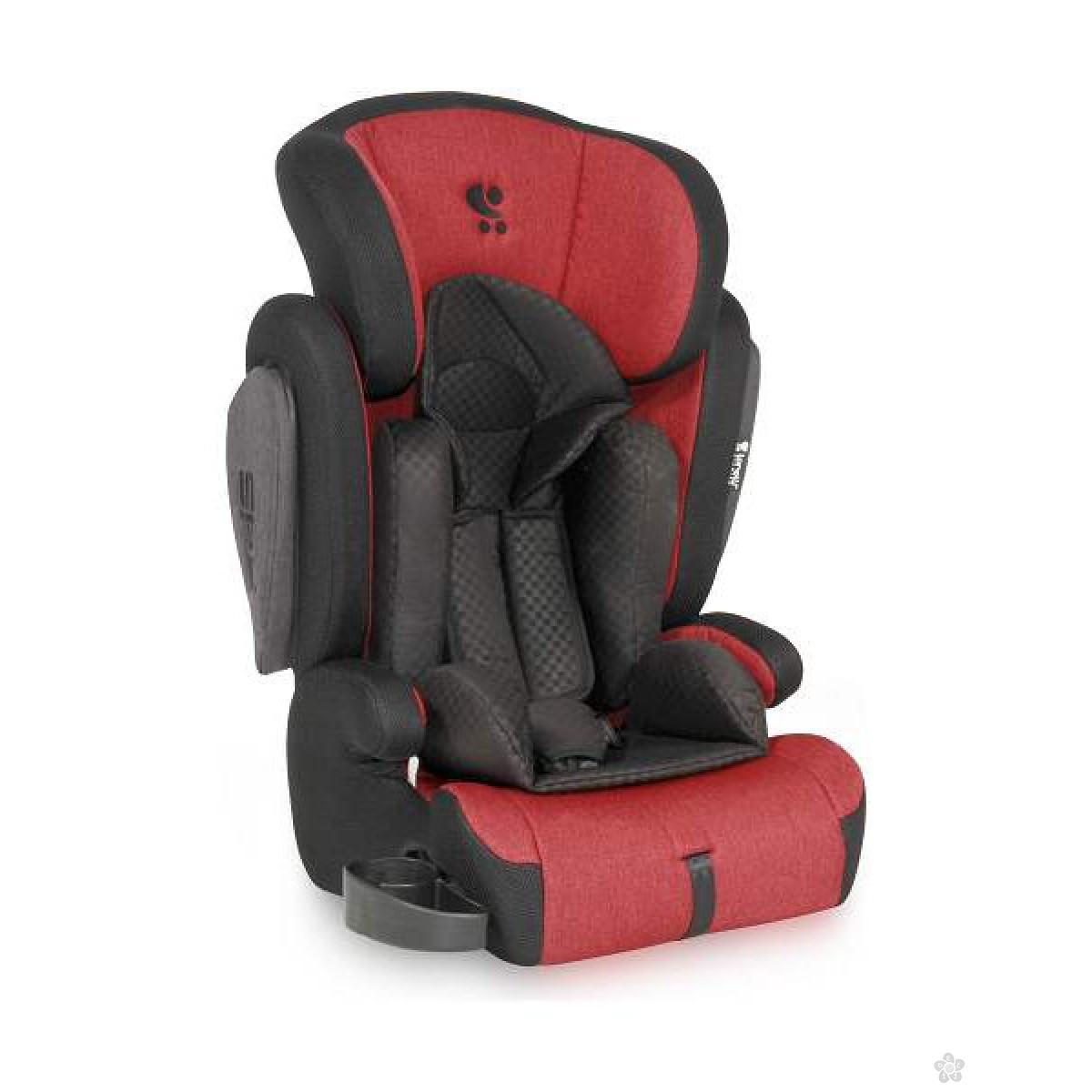 Auto Sedište Omega Red & Black 9-36kg, 10071041733