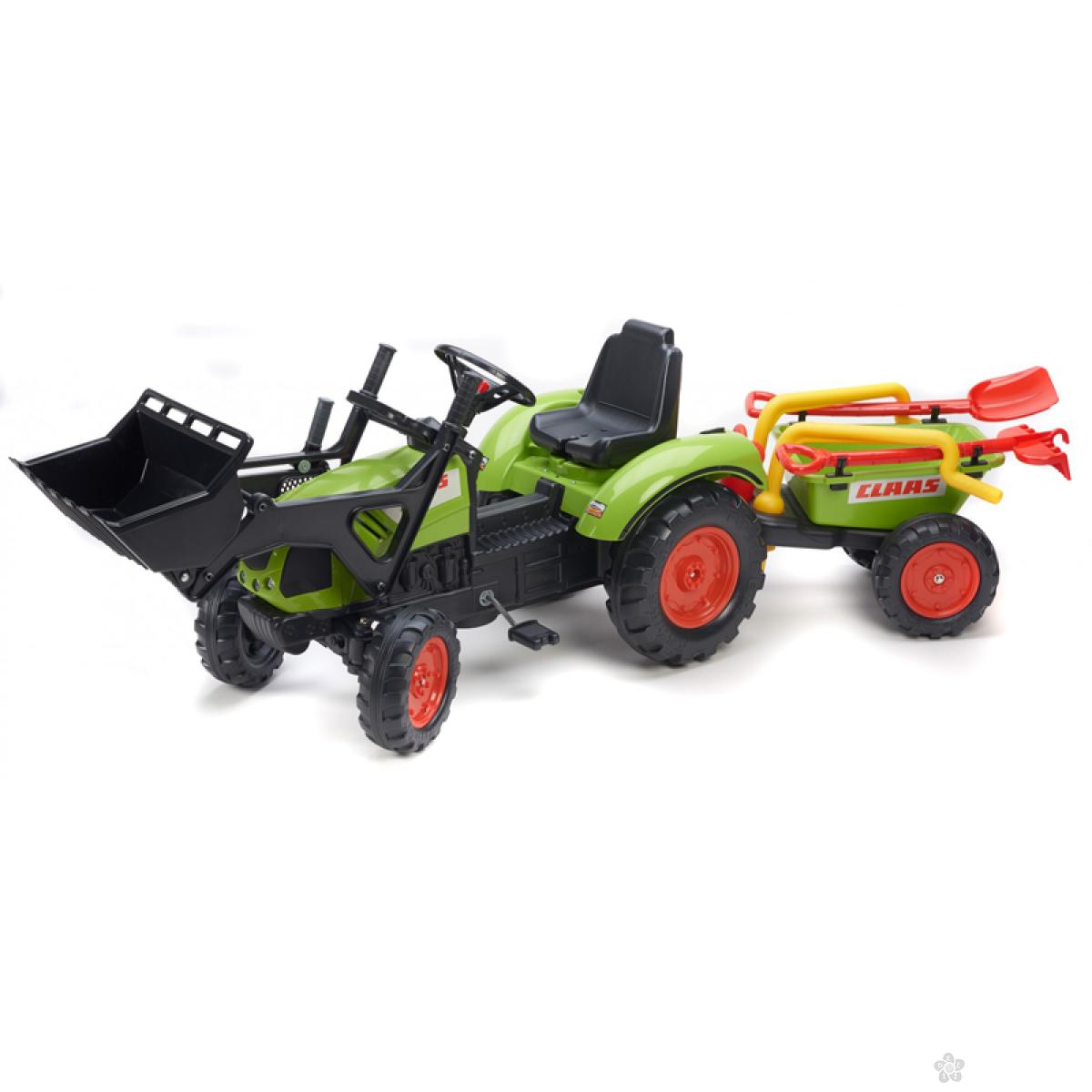 Guralica Falk Traktor Claas Arion sa prikolicom 1041rm