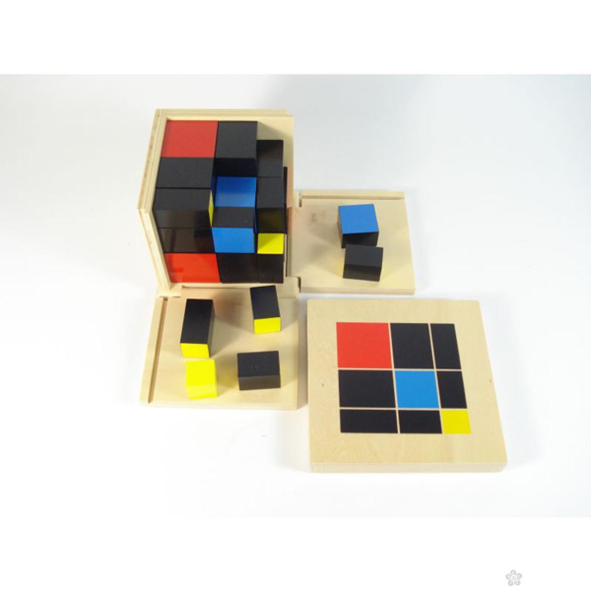 Montesori-kocka 3 x 3, HTM0171