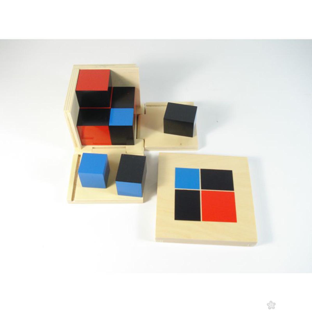 Montesori-kocka 2 x 2, HTM0174