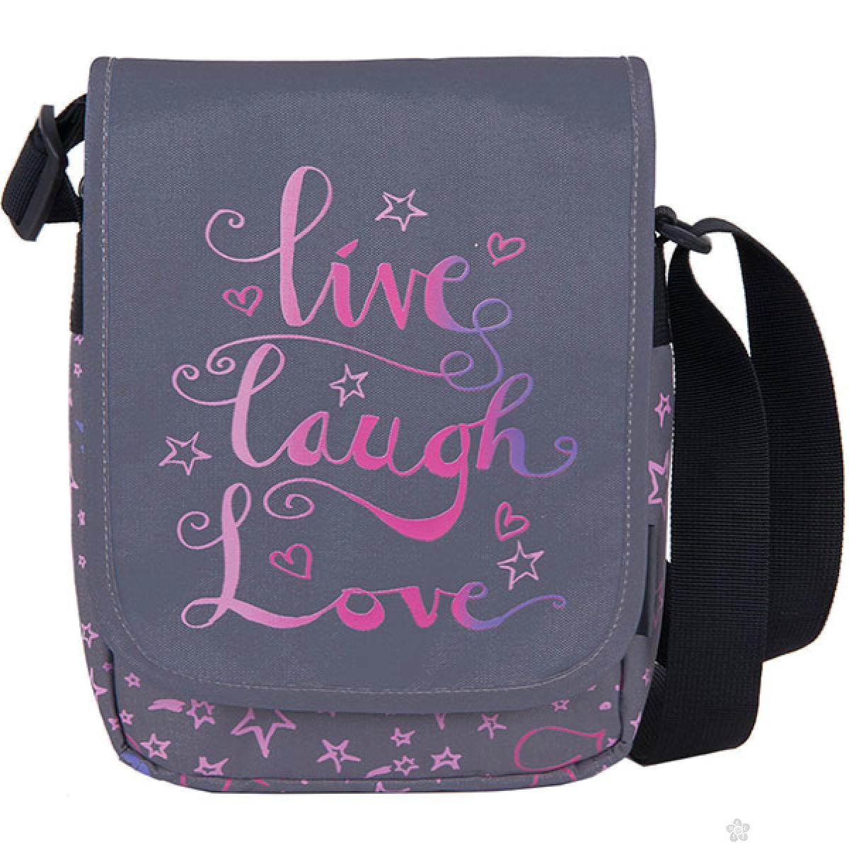 City Bag Teens Live Laugh Love, 121286