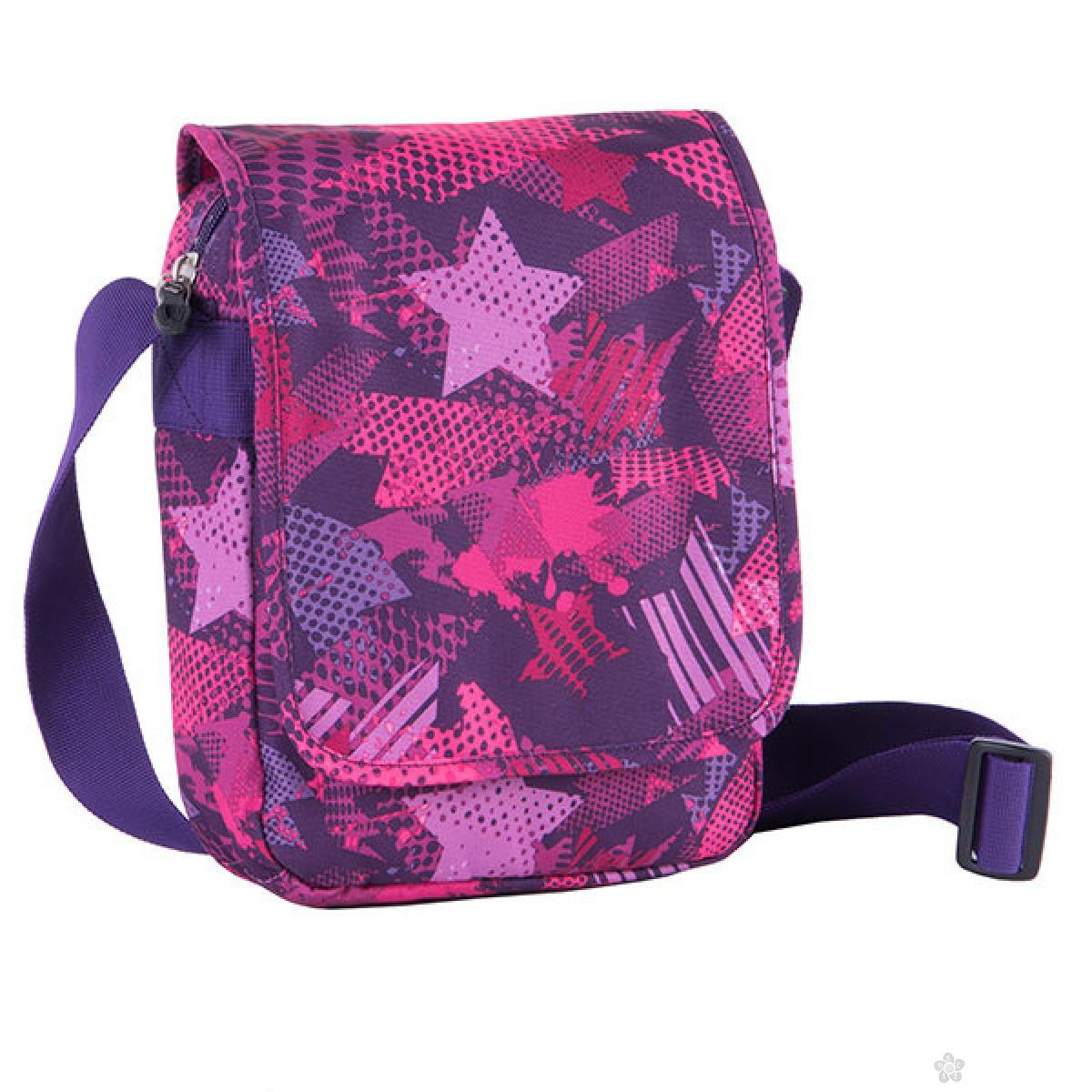 City Bag Teens Violet Stars, 121446