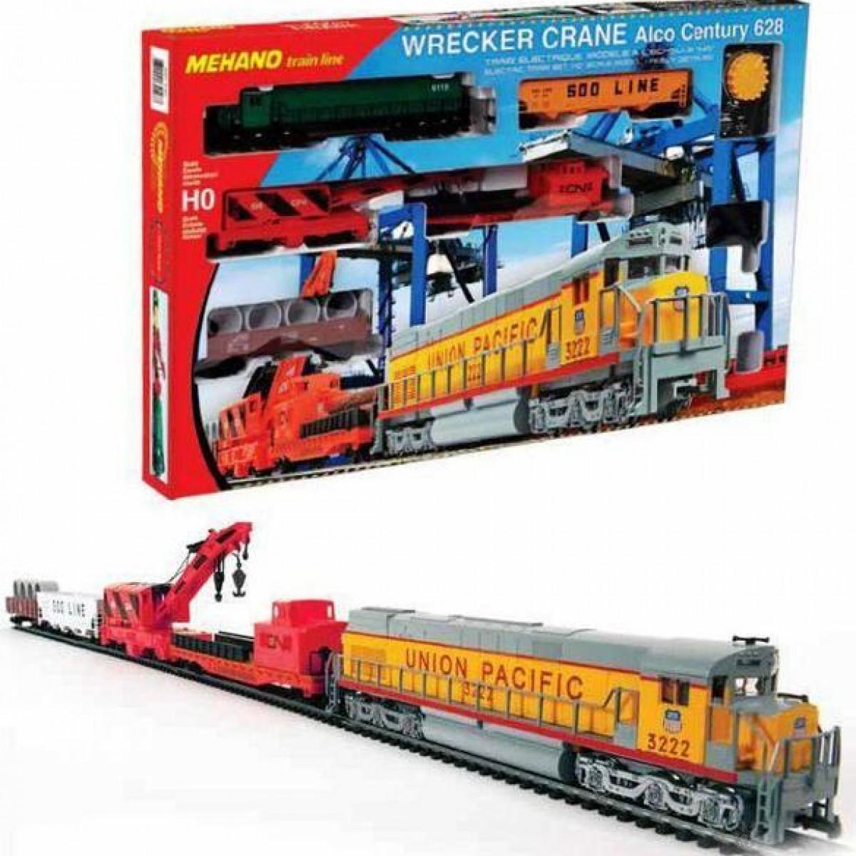 Voz Wrecker Crane Mehano T741
