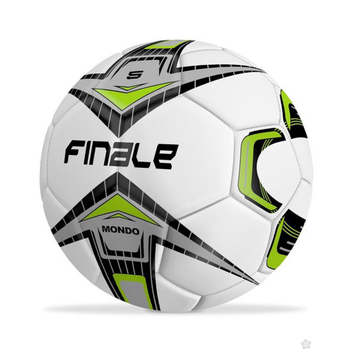 Lopta fudbal finale zelena 13595