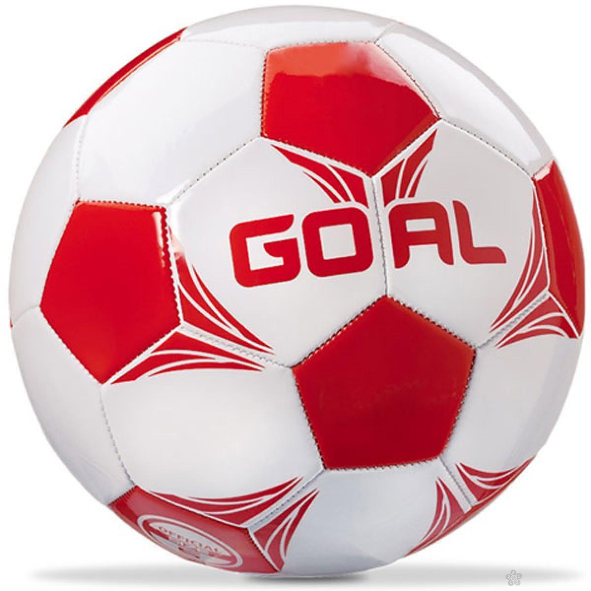 Lopta za fudbal crvena 13832