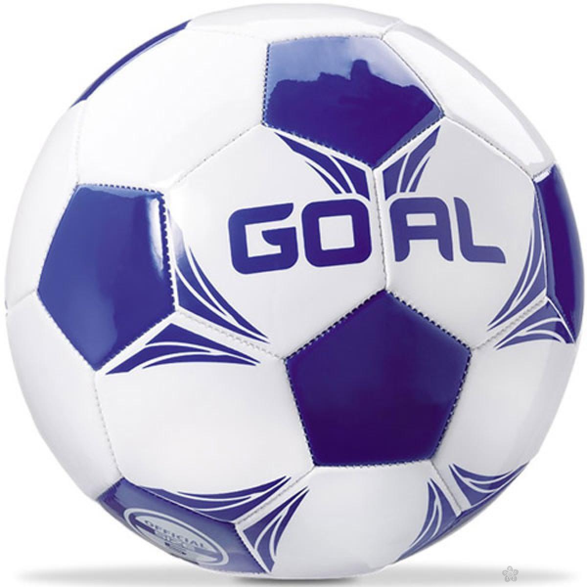 Lopta za fudbal plava 13832