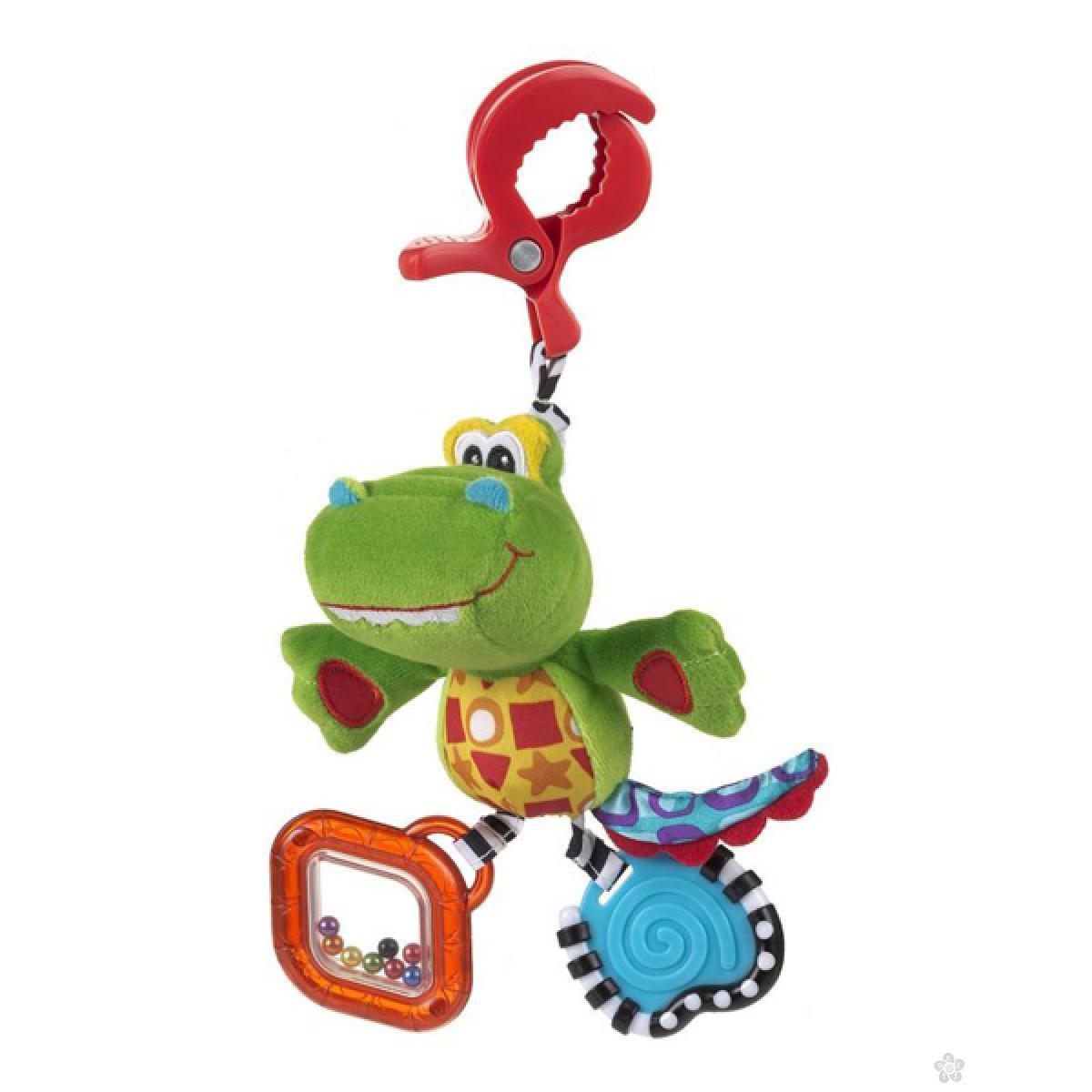 Igračke za bebe štipaljka Playgro aligator 182855