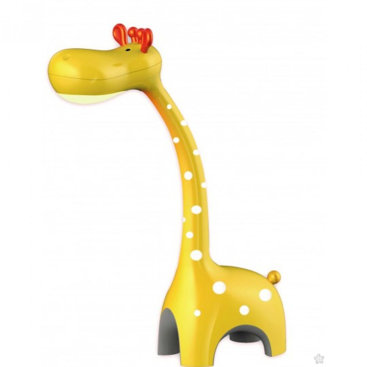 Led Stona lampa 6W Žuta žirafa, 161011