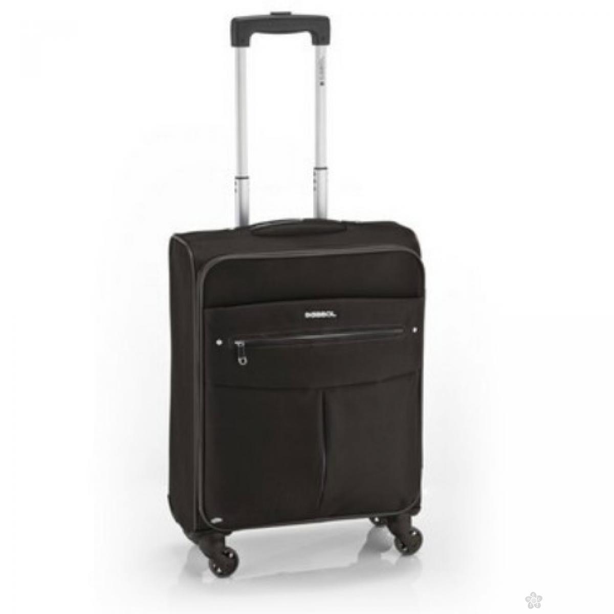 Kofer mali (kabinski) polyester Daisy siva, 16KG112122C