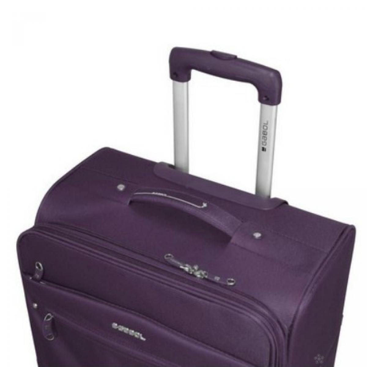 Kofer srednji polyester 65l-3,4 kg Daisy ljubičasta, 16KG112146L