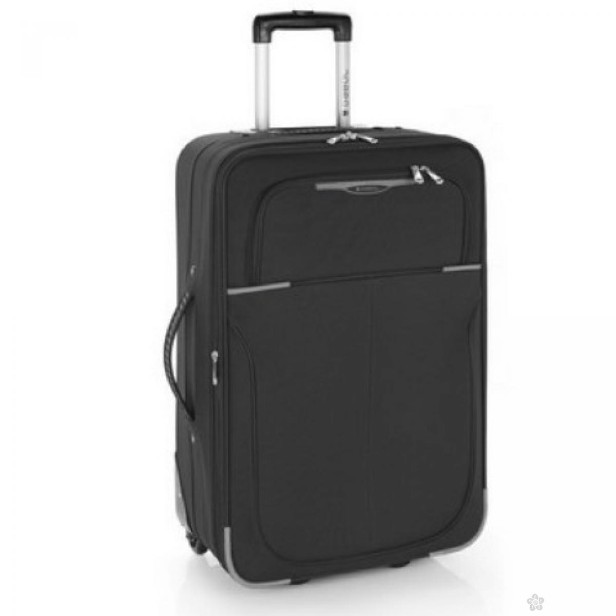 Kofer srednji polyester Malasia crna, 16KG113346B