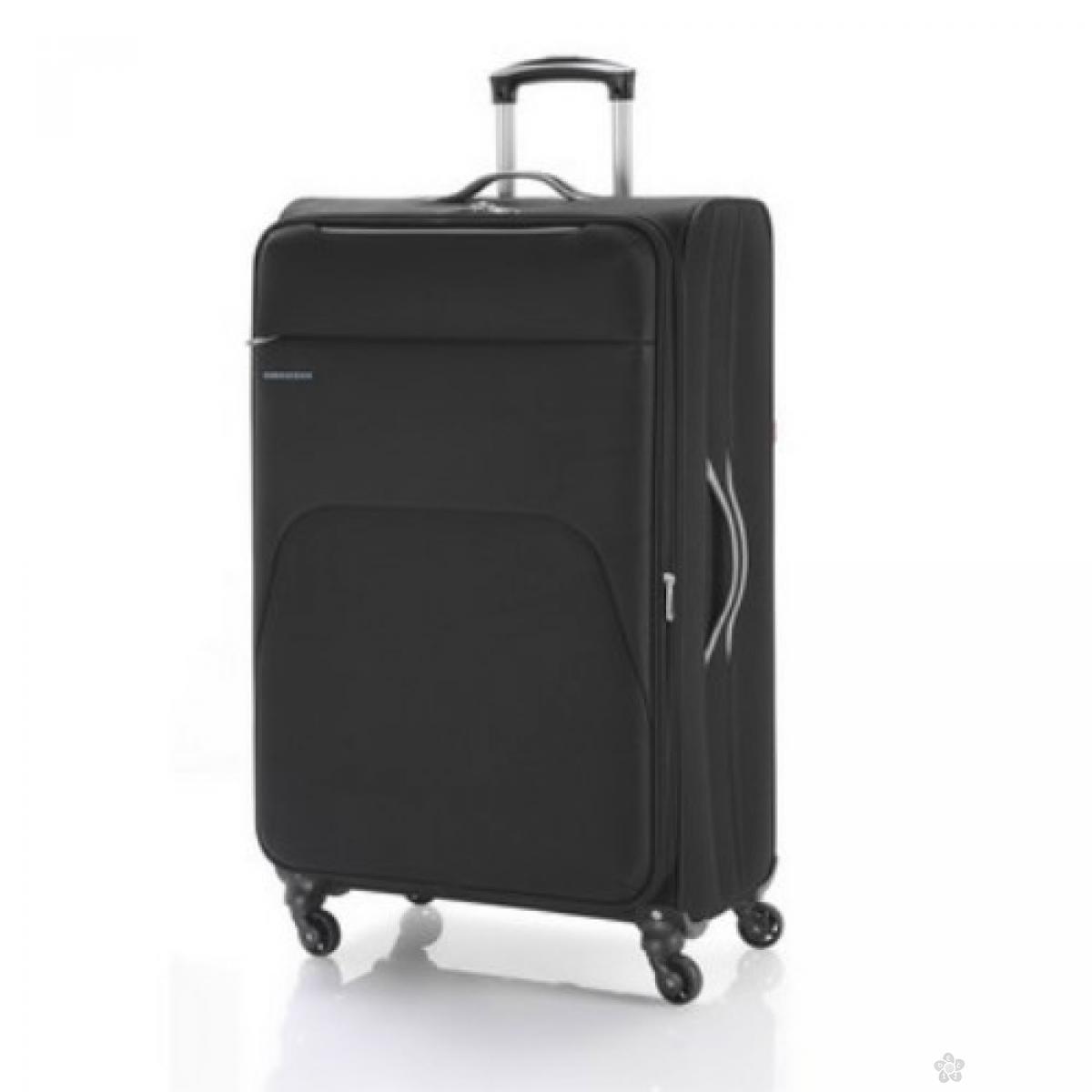 Kofer veliki  polyester Zambia crna, 16KG113447B