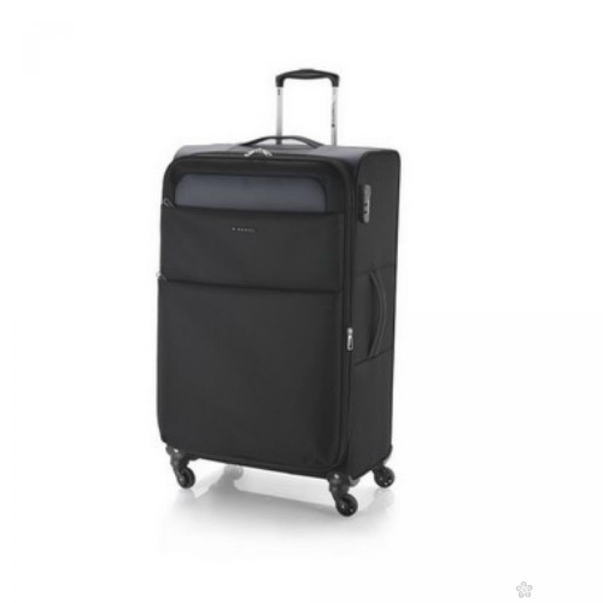 Kofer veliki polyester Cloud ultra light crna, 16KG114047B