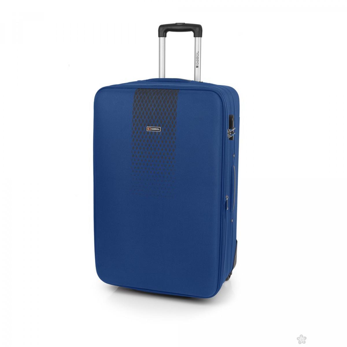 Kofer srednji polyester Roll plava, 16KG1145461E