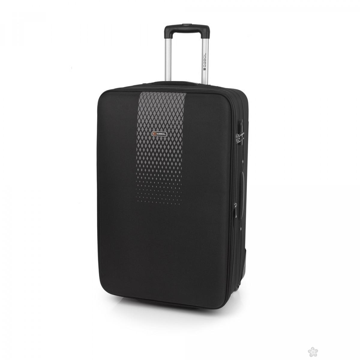 Kofer veliki polyester Roll crna, 16KG114547B