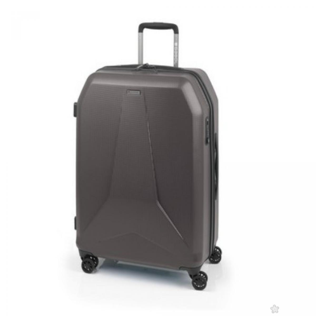 Kofer veliki Polikarbonat Nerve siva, 16KG115447C