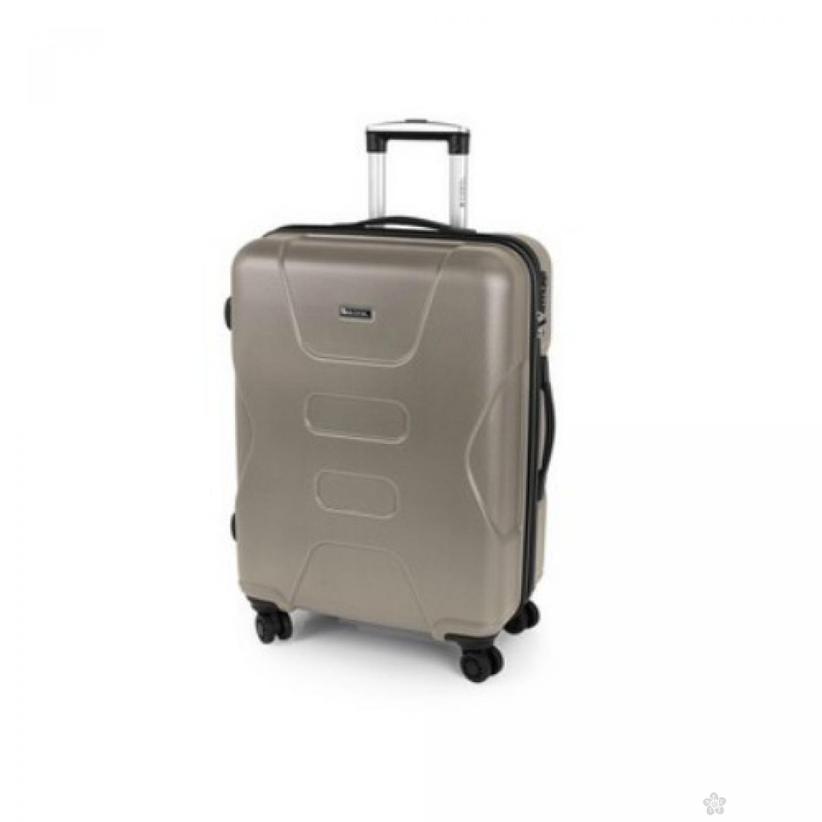 Kofer srednji ABS Custom krem, 16KG115646V