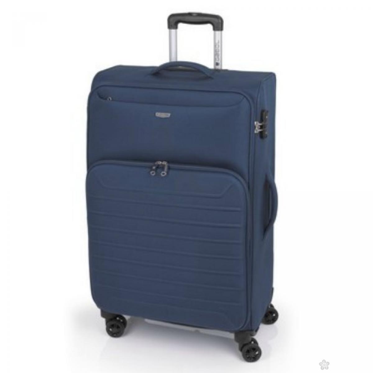 Kofer veliki polyester Ivory plava, 16KG115847E
