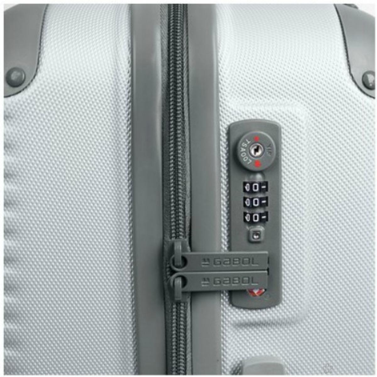 Kofer srednji ABS Balance srebrna, 16KG115946S