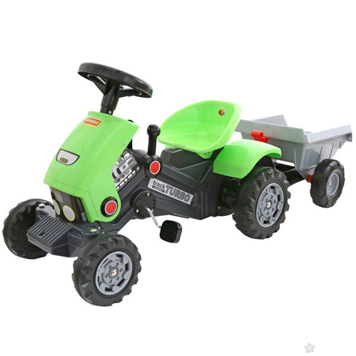 Traktor na pedale sa prikolicom Coloma 17-52742
