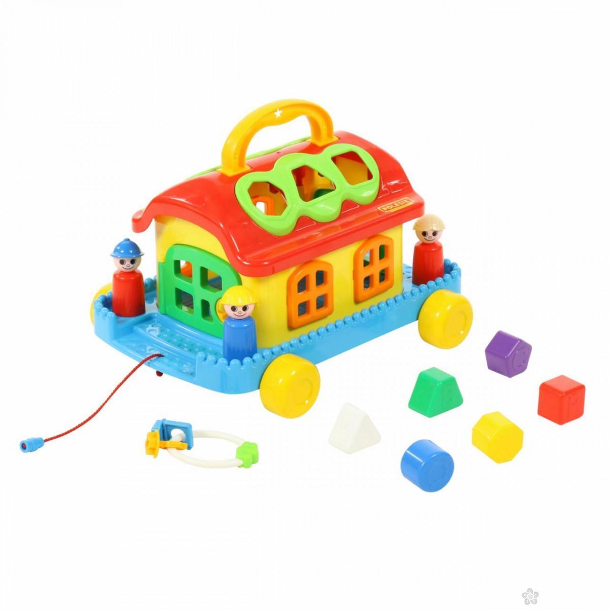 Kućica za pogađanje oblika 17/70999