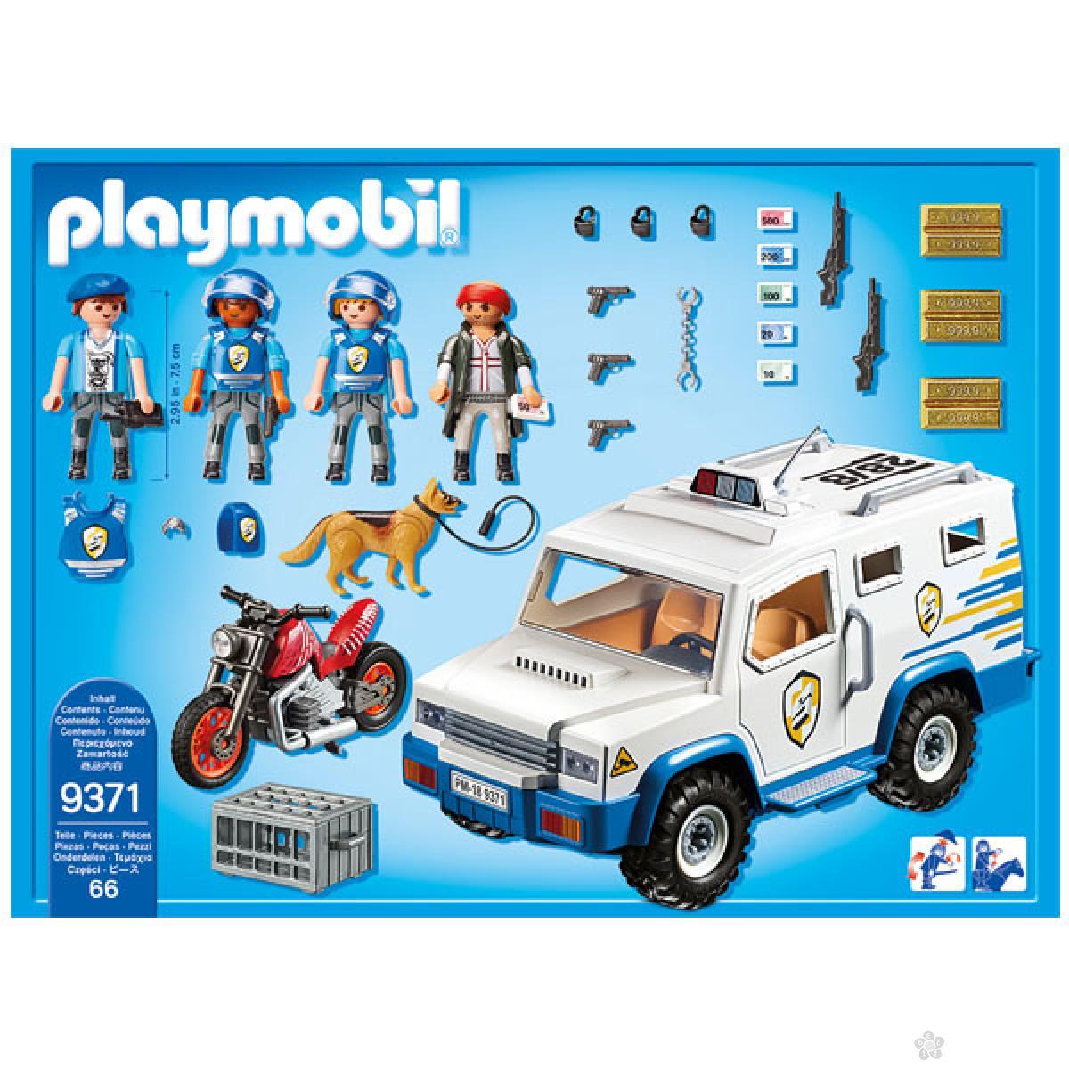 Playmobil Policijski transporter novca 19411