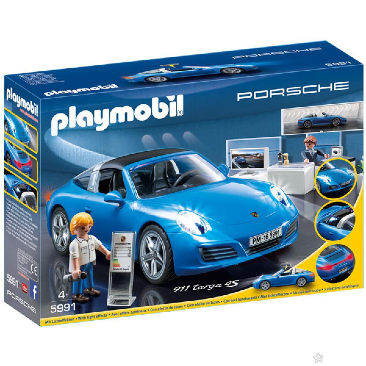Playmobil Porsche 911 Targa 4s 19468