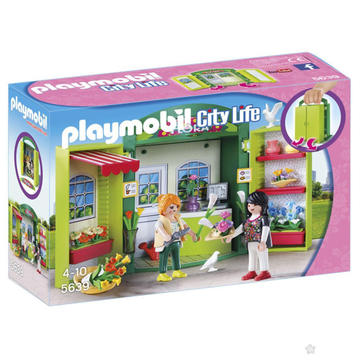 Playmobil Cvećara- Play box 19505