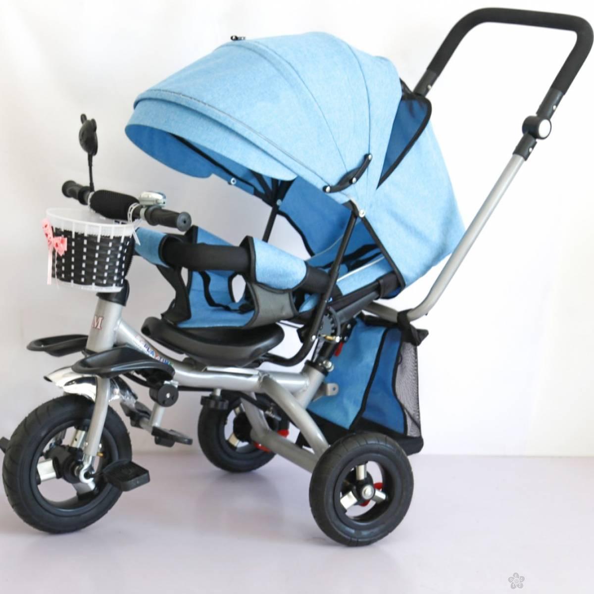 Tricikl Playtime,  model 413-1 RELAX  plavi