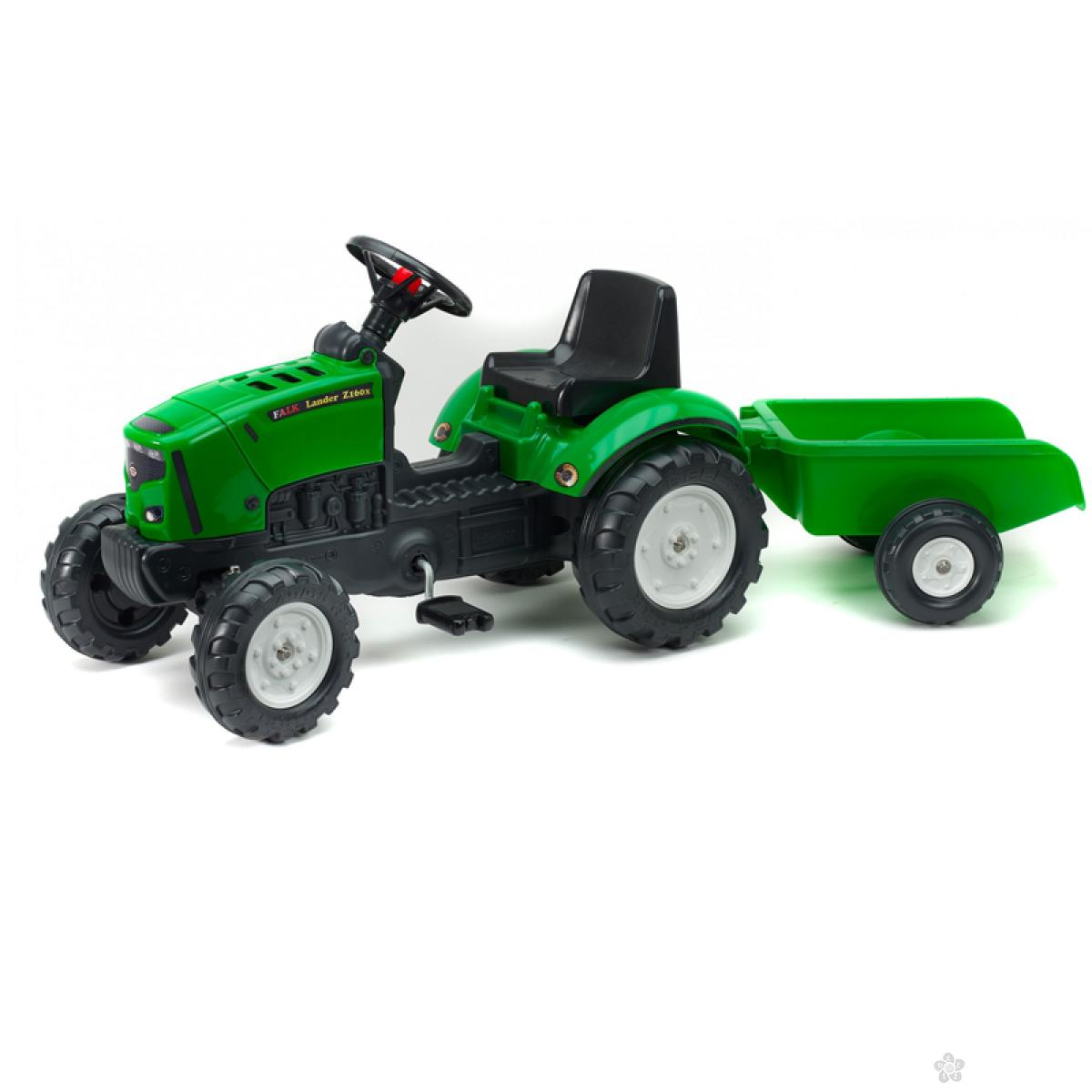 Guralica Falk Traktor Lander sa prikolicom 2031a