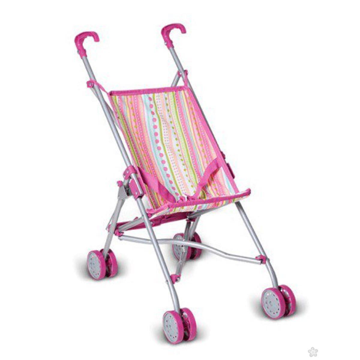 Kolica za lutke Knorr Toys Sim Stripes 12638