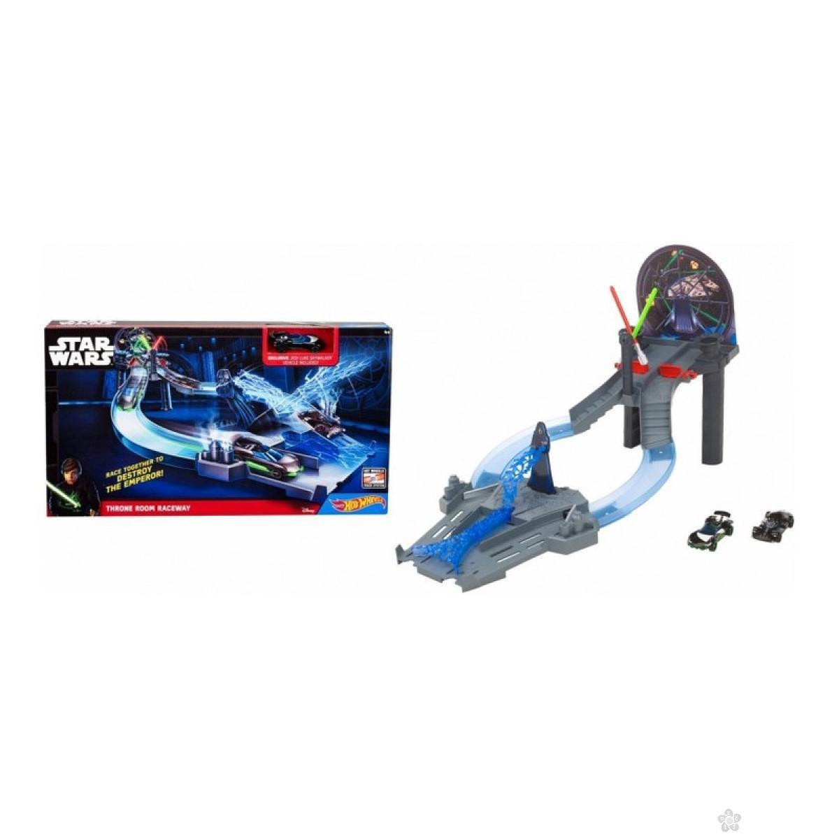Hot Wheels staza Star Wars Throne Room Raceway CHB13