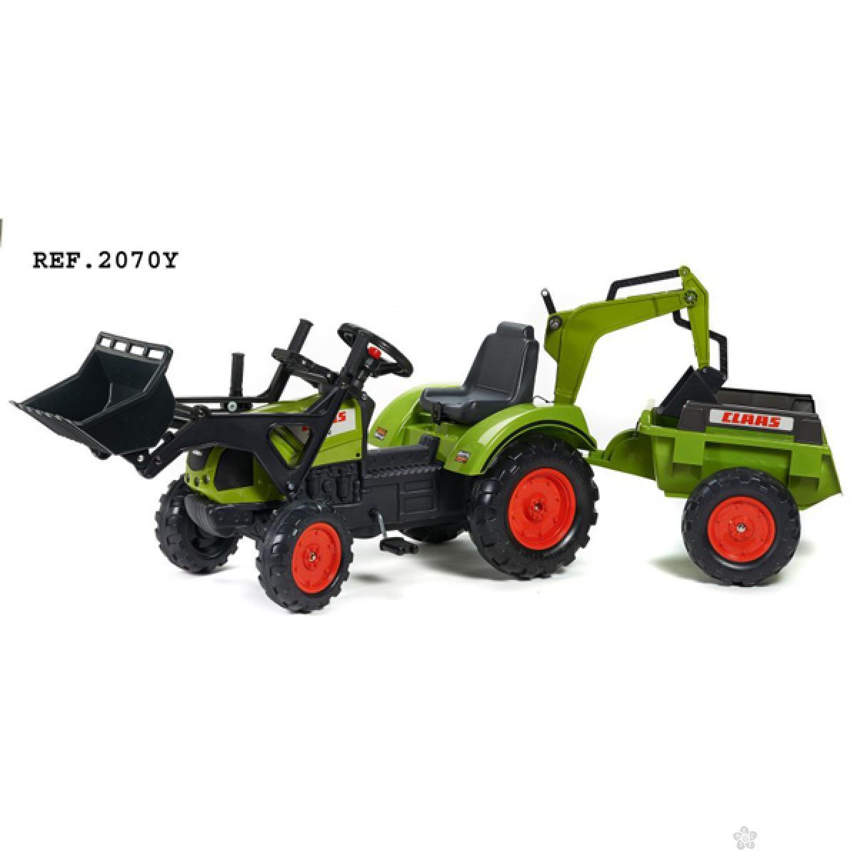 Traktor na pedale Falk, 2070y