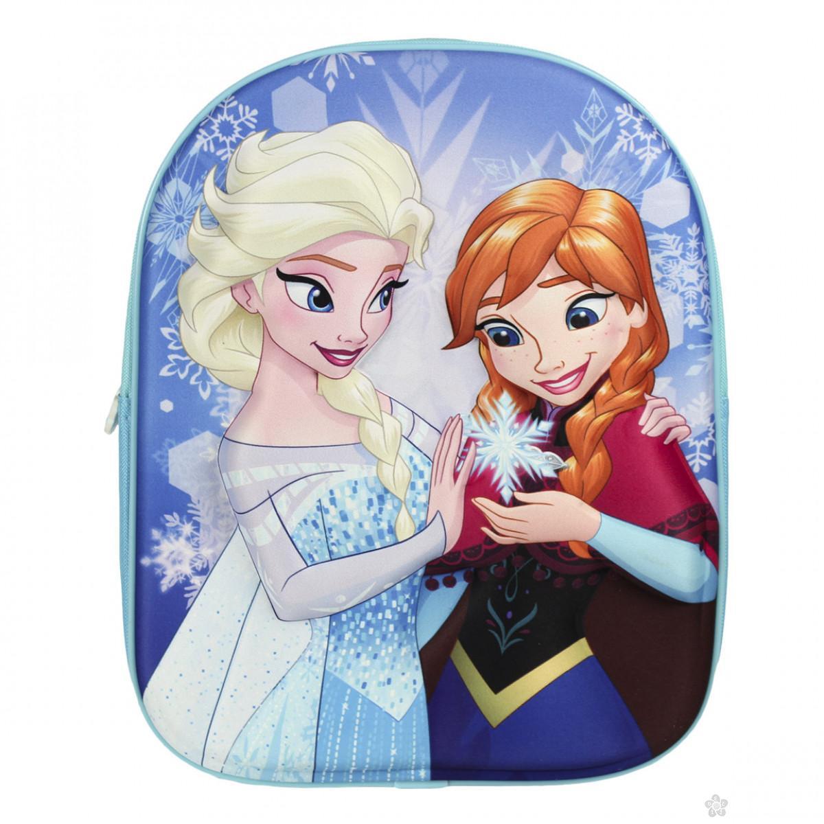 3D ranac za vrtić Frozen Elsa