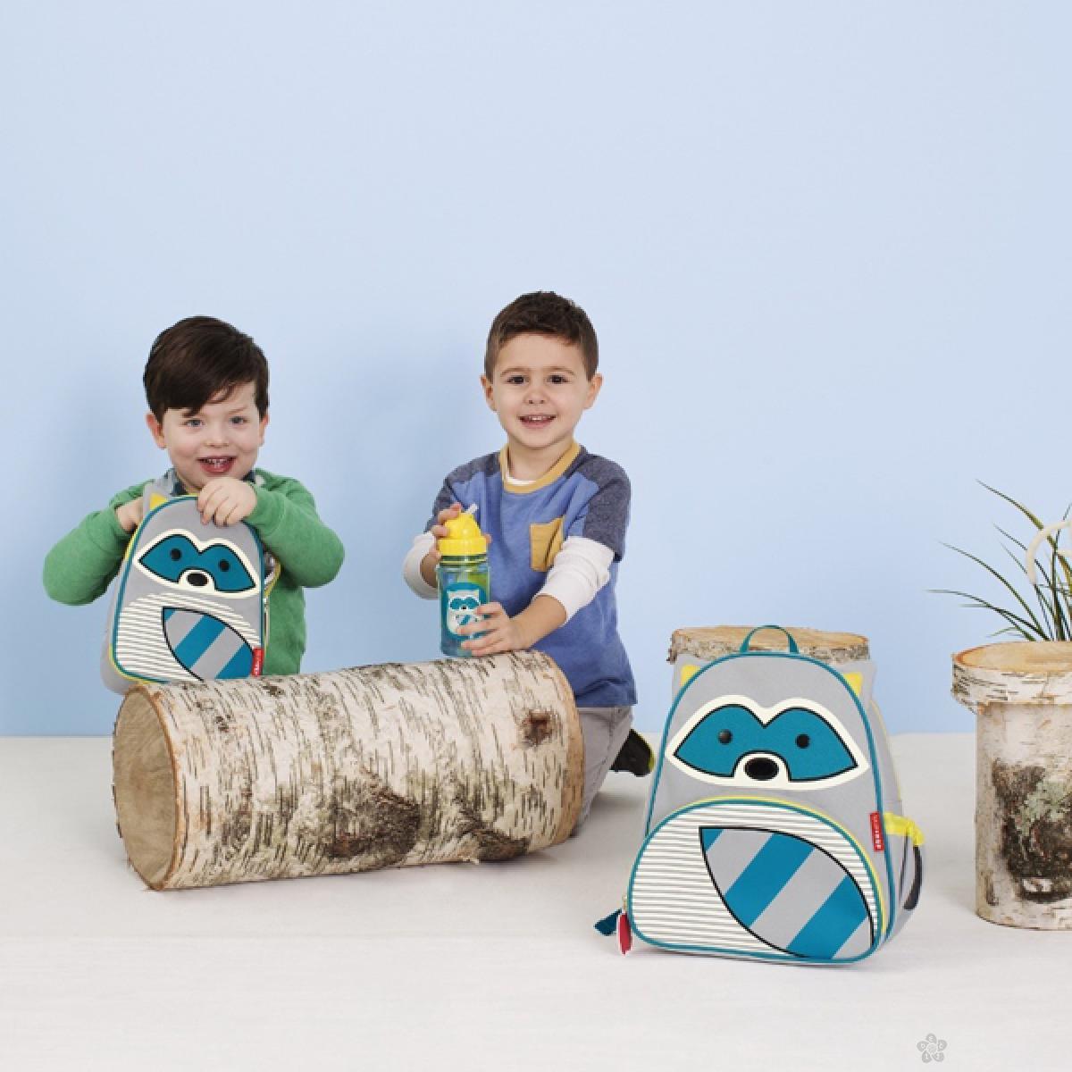 Zoo torbica za užinu Rakun 212127