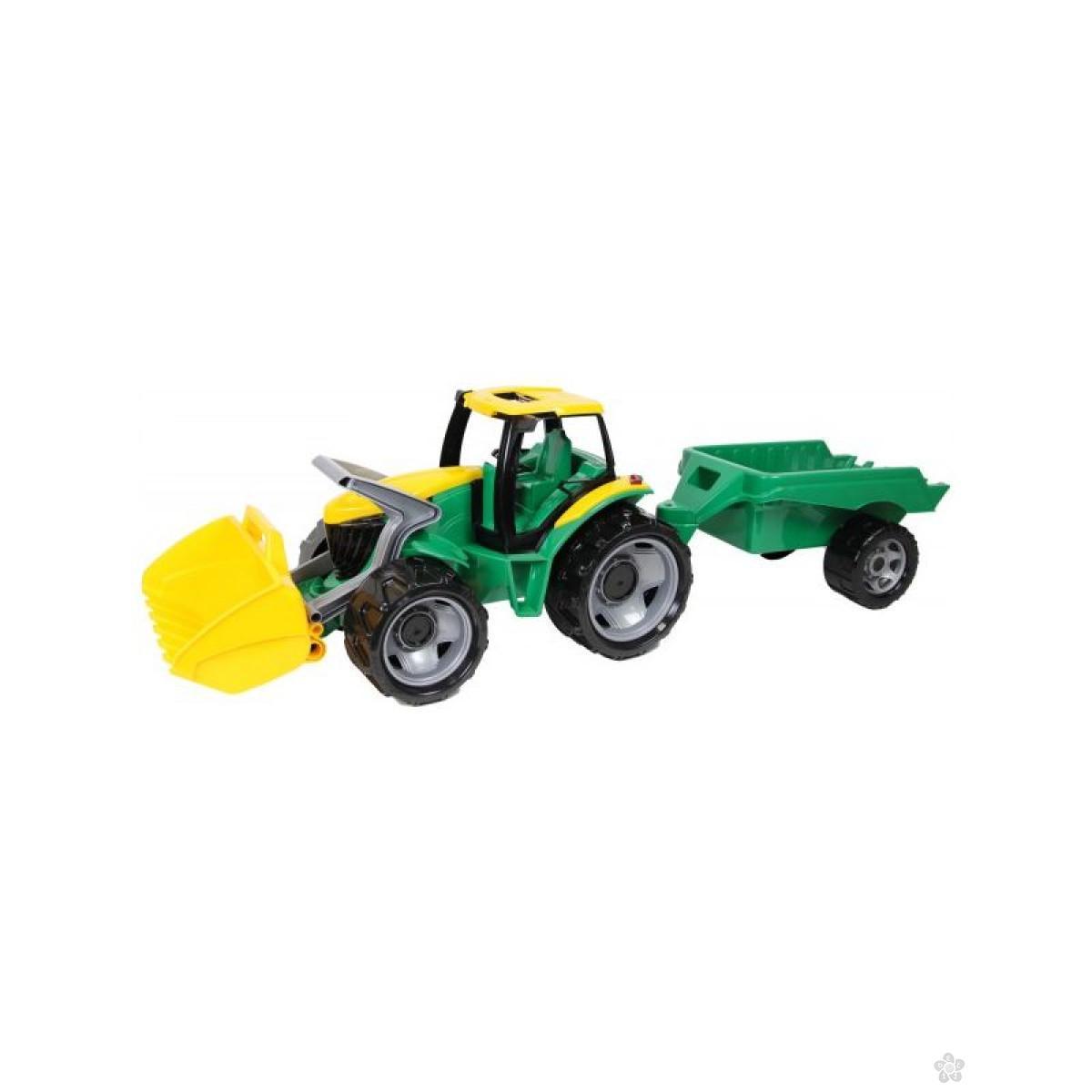 Traktor sa prikolicom i lopatom Lena, 2123