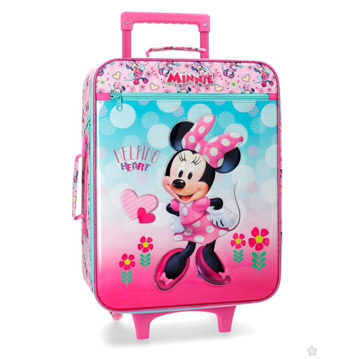Kofer World Minnie Mouse Heart  50cm,  23.790.61