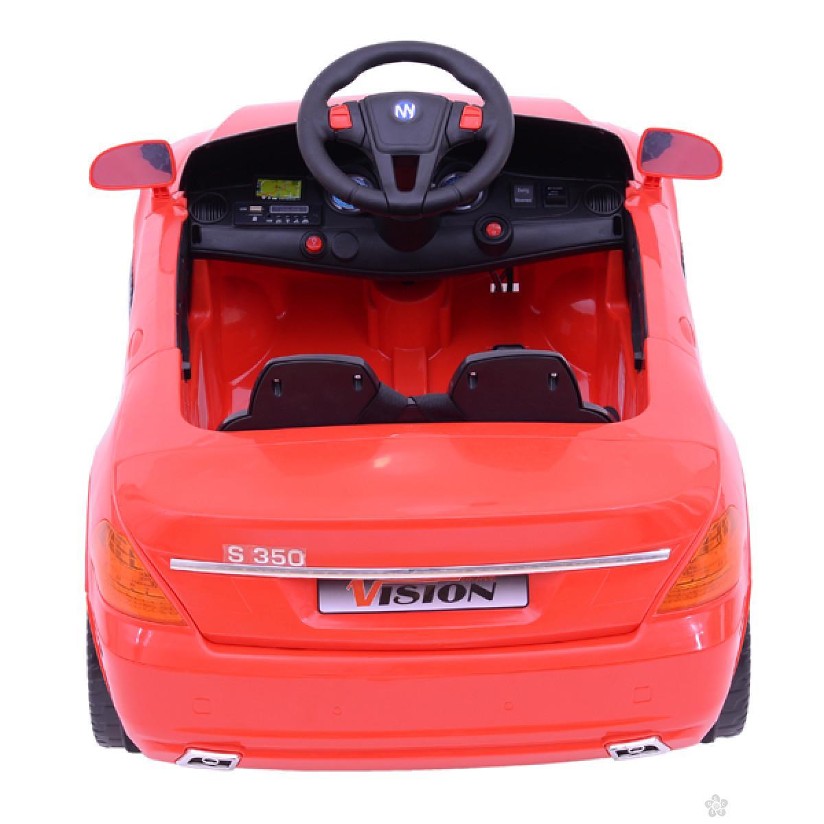 Auto na akumulator model 232, crvena