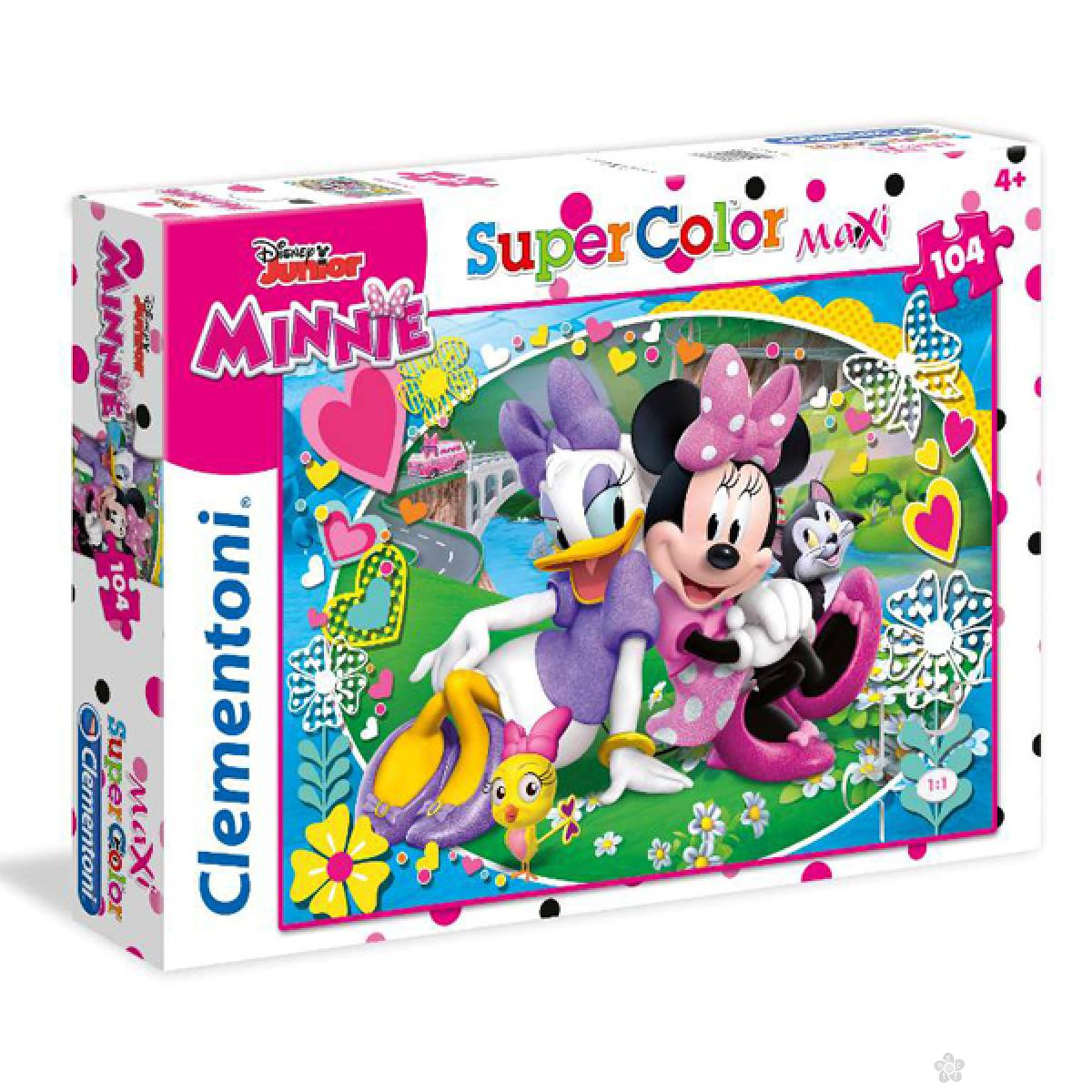 Puzzle 104 Maxi Minnie Clementoni, 23708