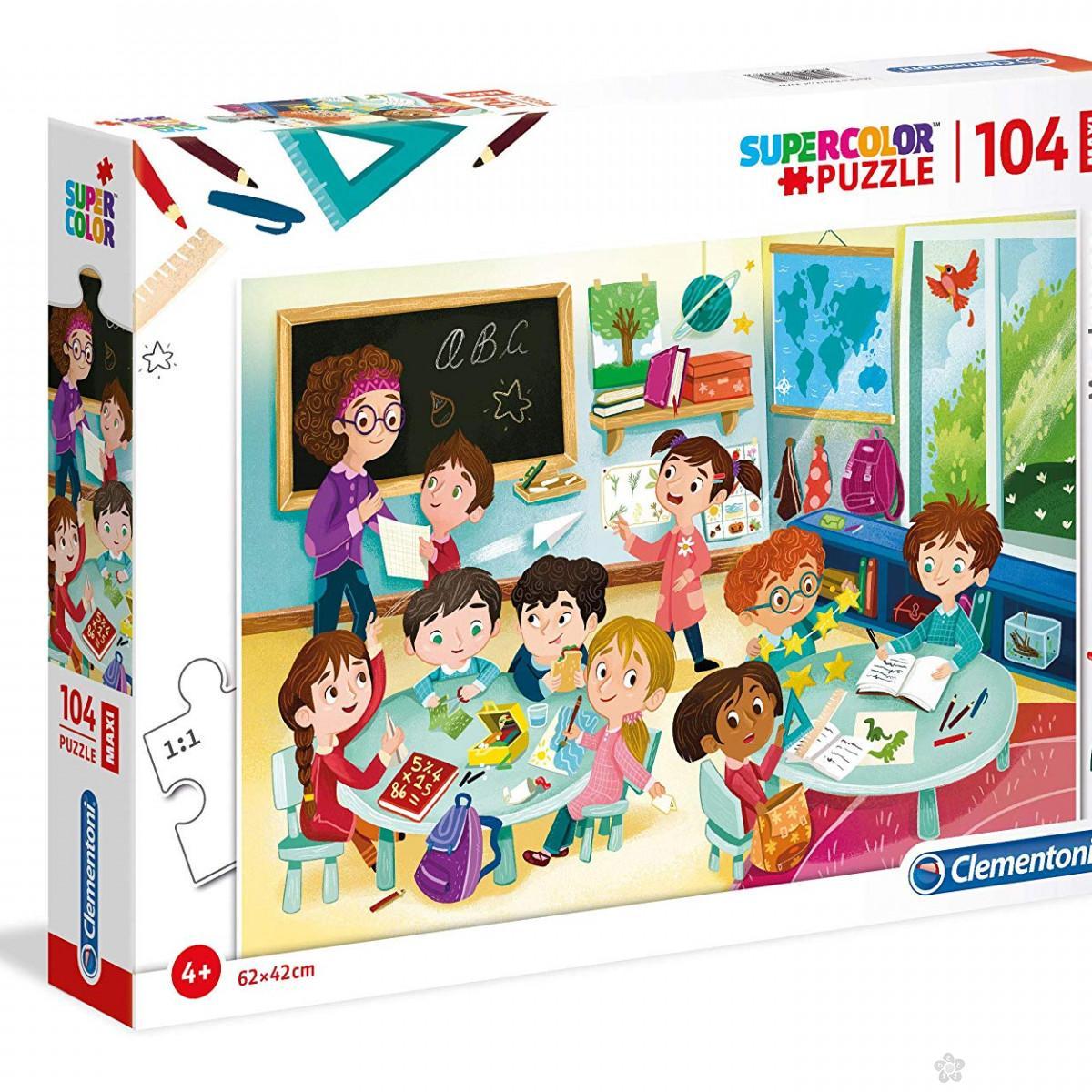 Puzzle 104 Maxi Clementoni, 23732