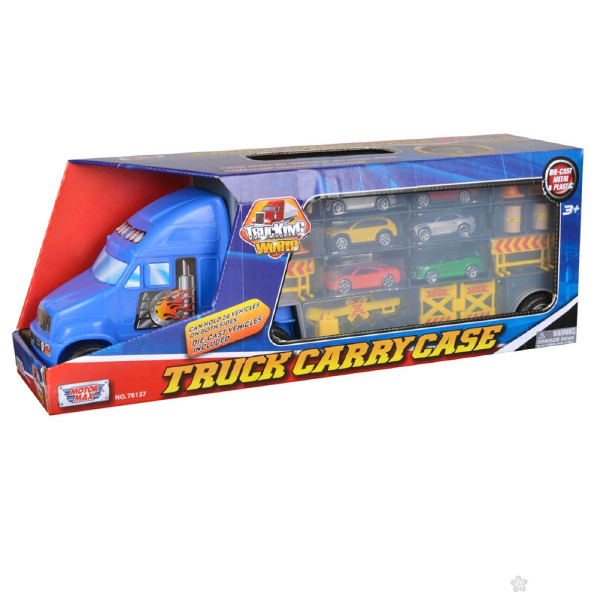 Kamion sa metalnim autićima - 6 komada 25/78127C